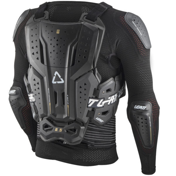 Leatt 6.5 Body Protector Graphene - Leatt BodyProtector 6.5 backLeft 5021400100