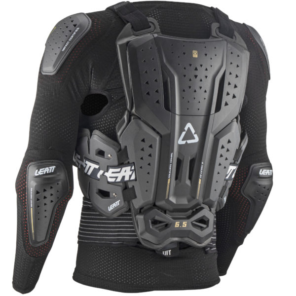 Leatt 6.5 Body Protector Graphene - Leatt BodyProtector 6.5 backRight 5021400100