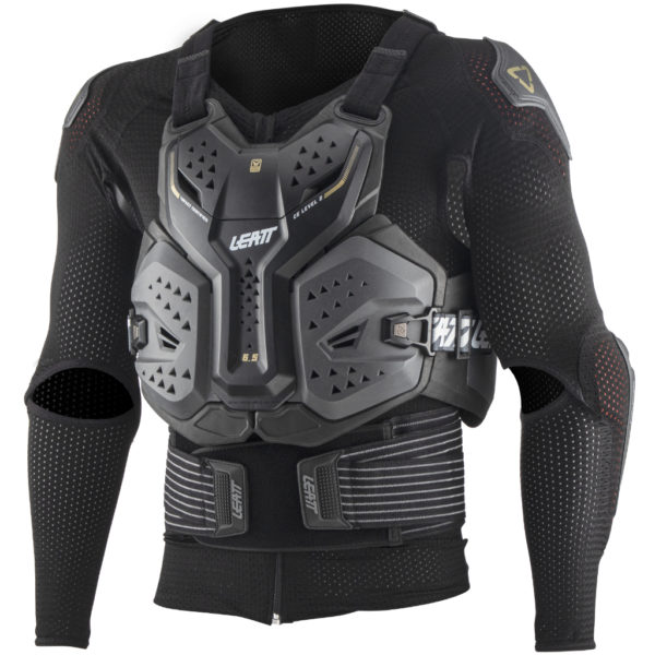 Leatt 6.5 Body Protector Graphene - Leatt BodyProtector 6.5 frontLeft 5021400100