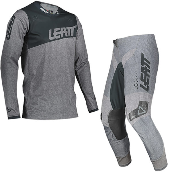 2021 Leatt GPX 4.5 Kit Combo Brushed - Leatt combo Moto 4.5 Lite FrontLeft Brushed 5021020200