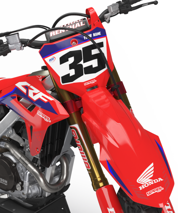 Honda Style MX Graphics Kit Privateer - crf Factory 2