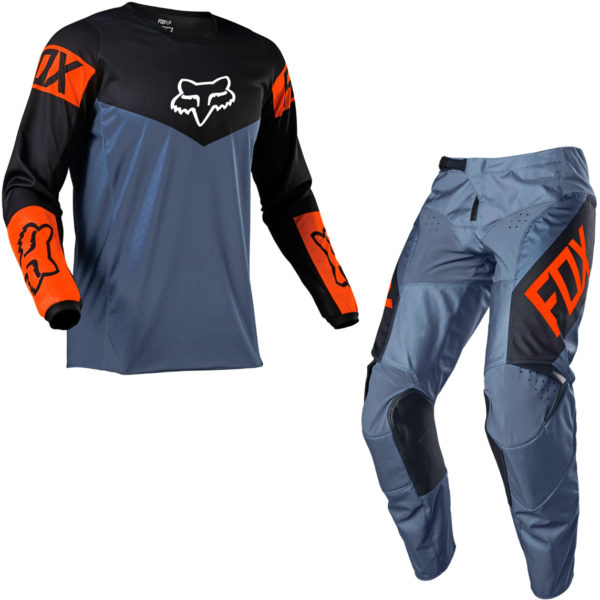 2021 Fox YOUTH 180 REVN Kit Combo Blue Steel - 25762 305 c