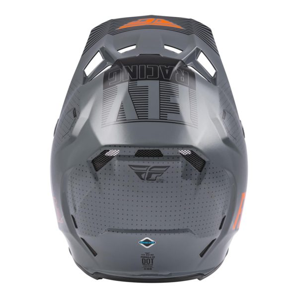 2021 Fly Formula CC Primary Helmet Grey/Orange - 73 4308 1 Helmet Formula CCPrimary 2021