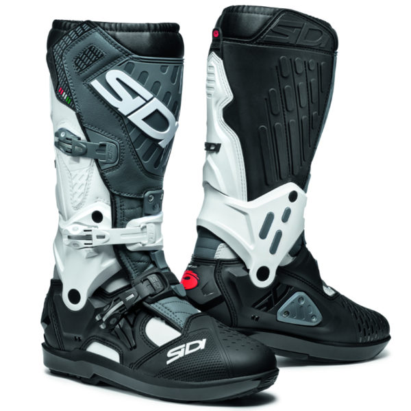 Sidi Atojo SRS Boots White/Black/Grey - 8780798 0