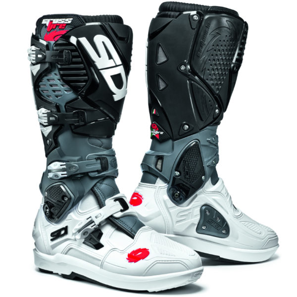 Sidi crossfire 3 srs boots white/grey/black - 8780958 0
