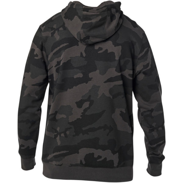 Fox Legacy Moth Camo Pullover Fleece - Black Camo - 24762 247 2