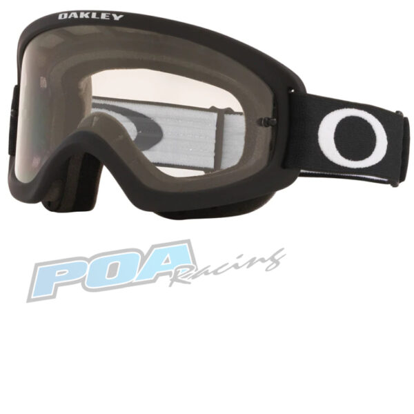 Oakley XS O Frame 2.0 PRO YOUTH Goggle Matte Black - Clear Lens - 0OO7116 711609 46723.1579173091
