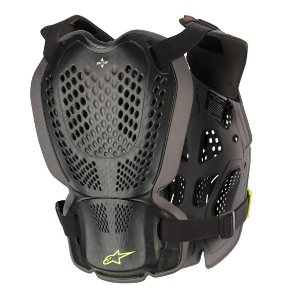 Alpinestars A1 Plus Roost Guard Black/Anthracite - 6700120 1155 ba a 1 plus chest protector