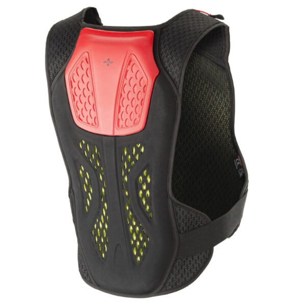 Alpinestars Sequence Chest Protector Anthracite/Red - 6701819 143 ba sequence soft chest protector