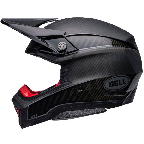 Bell Moto 10 Spherical MIPS Limited Edition Helmet Black/Silver - bell moto 10 spherical le dirt helmet rhythm matte gloss black silver left 1