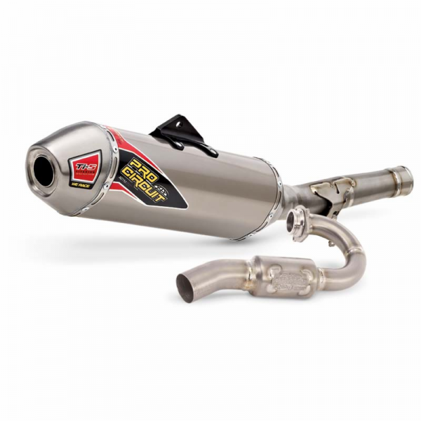 Pro Circuit Ti-5 Titanium Exhaust System With Titanium End Cap