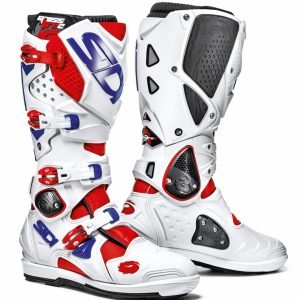 2017 Sidi Crossfire 2 SRS Boot Red/White/Blue