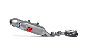 Akrapovic Exhaust Honda CRF 250 2014 Full System Stainless Header – Titanium Silencer