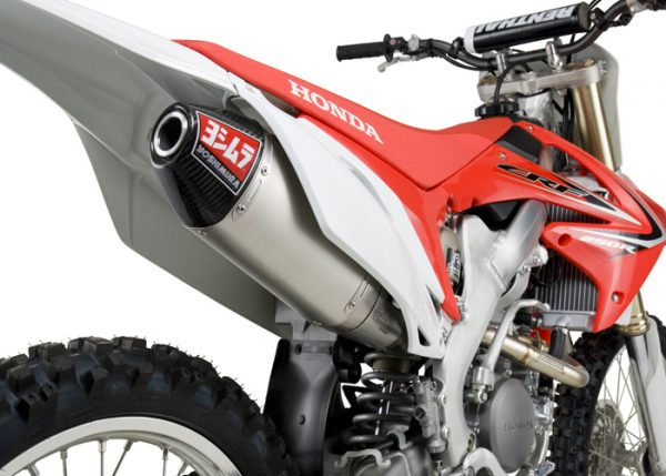 Yoshimura RS4 - Honda CRF 250 2011-13 - Stainless Exhaust System (New Style)