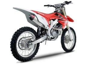 Yoshimura RS4 - Honda CRF 450 2009-12 - Stainless Exhaust System (New Style)