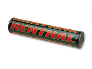 Renthal Team Issue SX Bar Pad Black/Green/Red