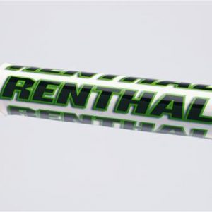 Renthal SX Bar Pad White/Green
