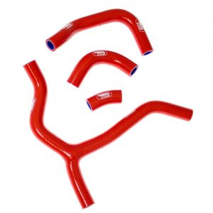 Samco Radiator Hoses Honda CRF 450 13-14 Red ('Y' Piece Race Design)