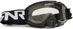 Rip N Roll Hybrid Tear Off Goggle Black