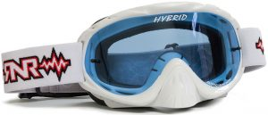 Rip N Roll Hybrid Tear Off Goggle White