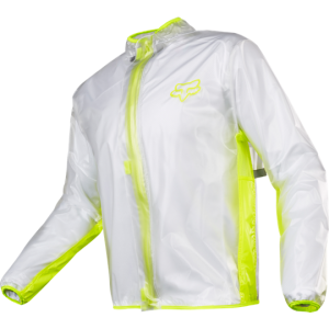 Fox Fluid Jacket Clear/Yellow