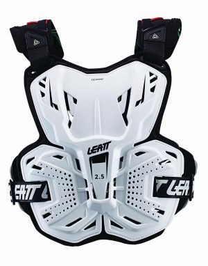 2017 Leatt 2.5 Chest Protector White