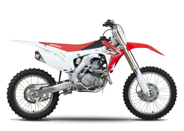 Yoshimura RS9 - Honda CRF 450 2013-14 - Stainless Exhaust System
