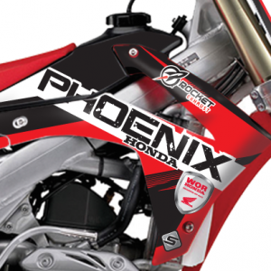 2014 Phoenix Tools Honda Team Graphics Kit Complete