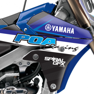 POA Racing Yamaha Team Graphics Kit Complete
