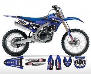 The Striker Yamaha Graphics Kit Complete