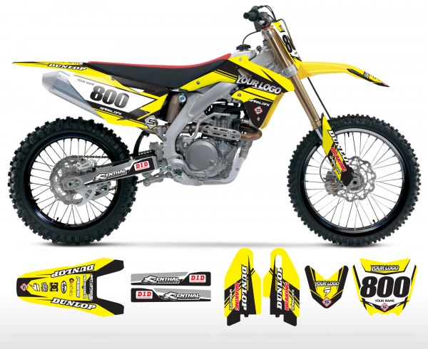 The Striker Suzuki Graphics Kit Complete