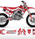 The Striker Honda Graphics Kit Complete