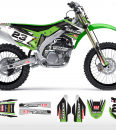 The Fettler Kawasaki Graphics Kit Complete