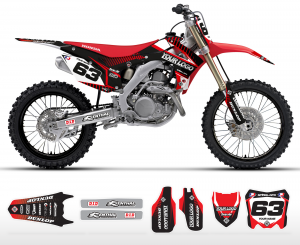 The Block Honda Graphics Kit Complete