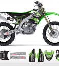 The Block Kawasaki Graphics Kit Complete
