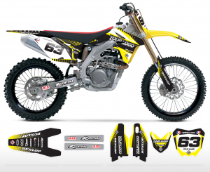 The Block Suzuki Graphics Kit Complete