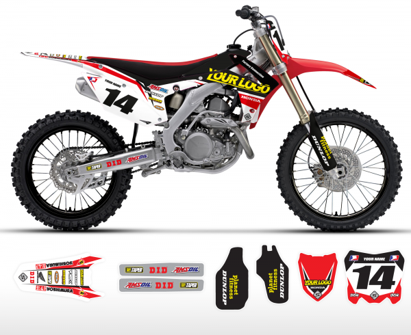The Bogle Honda Graphics Kit Complete