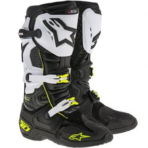2017 Alpinestars Tech 10 Boot Black/White