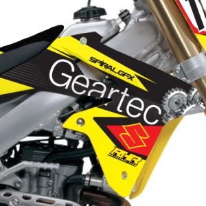 2014 Geartec Suzuki Team Graphics Kit Complete
