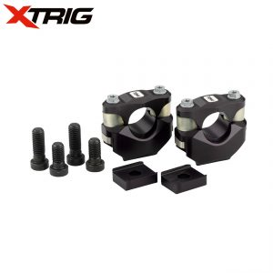 Xtrig Honda CRF250 2014 CRF450 13-14 Triple Clamp Set  M12 (Complete With Bar Mounts)