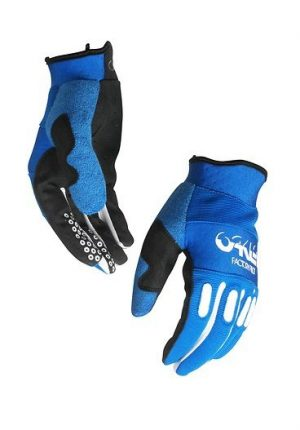 Oakley Factory MX Glove Blue Line