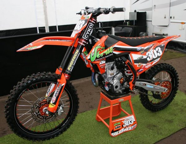 POA Racing MXGP Graphics Kit Complete With Custom Backgrounds