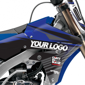 Target Yamaha Graphics Kit Complete With Custom Backgrounds