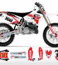 Throwback Yamaha Graphics Kit Complete With Custom Backgrounds