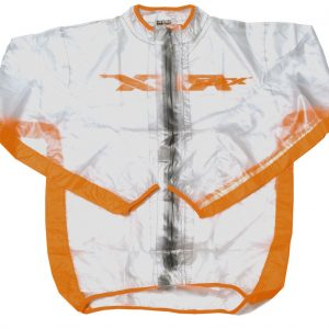 RFX Youth Race Series Wet Jacket Clear/Orange