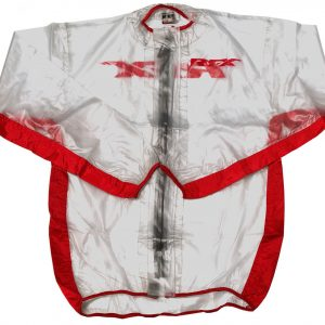 RFX Race Series Wet Jacket Clear/Red