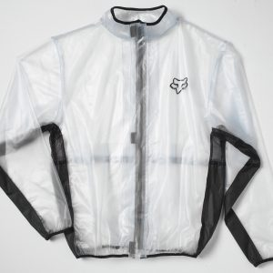 Fox Fluid Jacket Clear/Black