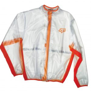 Fox Fluid Jacket Clear/Orange