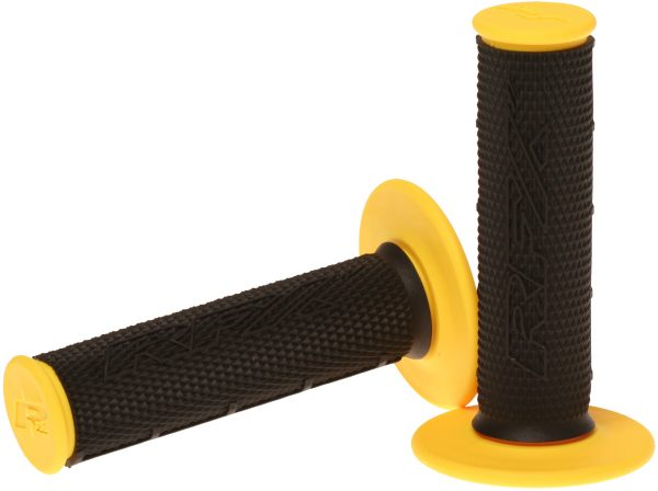RFX Pro Series 201 Dual Compound Grips Black/Yellow