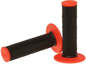 RFX Pro Series 201 Dual Compound Grips Black/Orange